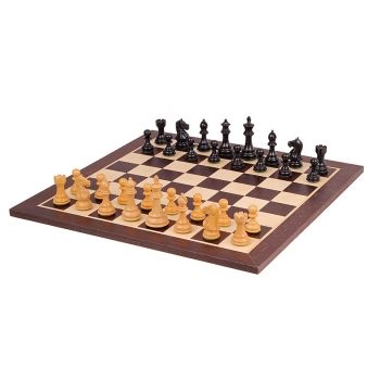 Supreme wenge chess set